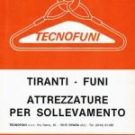 Tecnofuni Primo Catalogo 1980