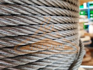 Fune acciaio zincato 6x36WS+IWRC