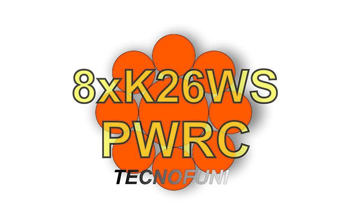 Funi 8xK26WS + PWRC in acciaio zincato