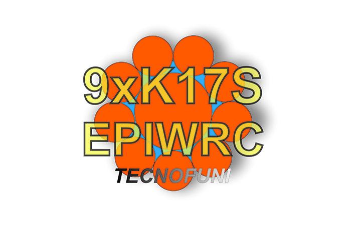 Funi 9xK17S + EPIWRC in acciaio zincato
