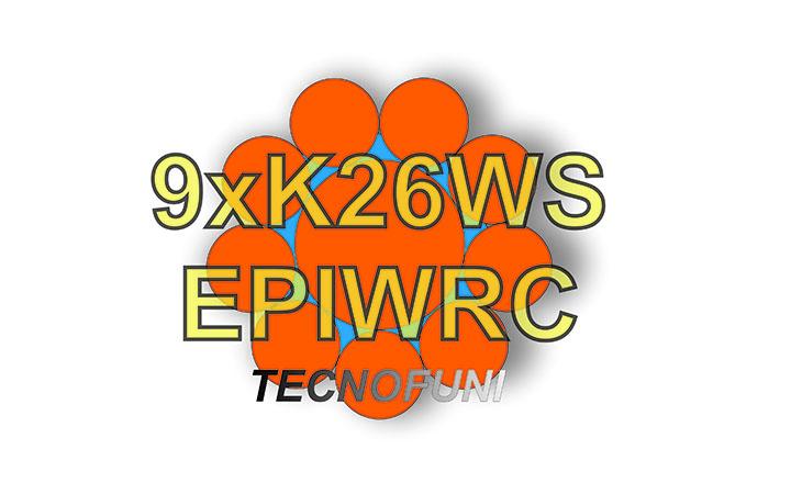 Funi 9xK26WS + EPIWRC in acciaio zincato