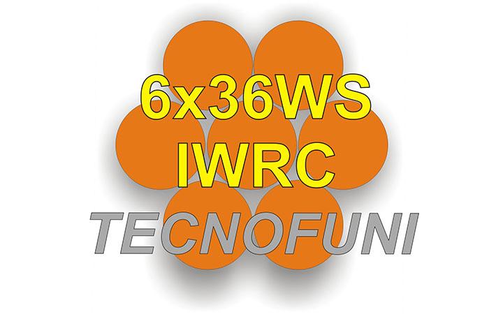 Funi Forestali 6x36WS - IWRC in acciaio lucido o zincato