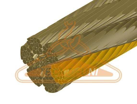 Fune Forestale Super Martellata 156 fili con anima metallica